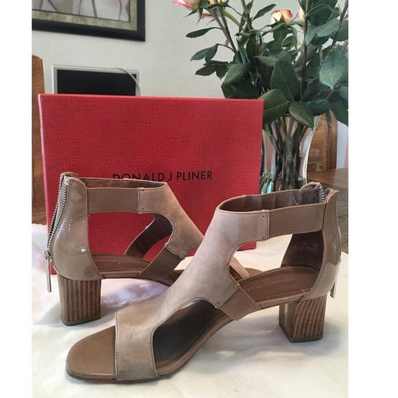 8ca4a44816 Donald J. Pliner Shoes | Donald Pliner Freya Strappy Blockheeled ...
